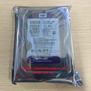 ổ cứng wd 500G Lắp Camera Tại Hà Đông