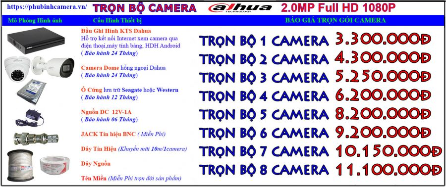 bảng báo giá Lắp Đặt Camera-dahua-2.0mp-phubinh