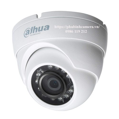 camera dahua dome 2.0Mp vỏ kim loại