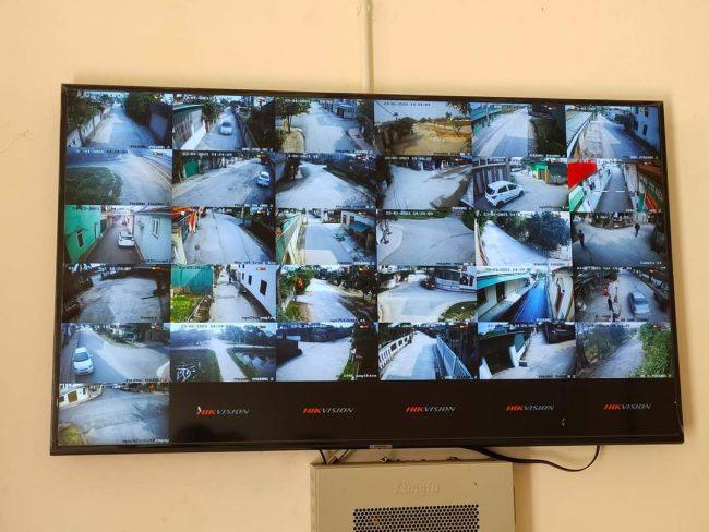 lắp đặt camera ở đường phố tại quận Đống đa