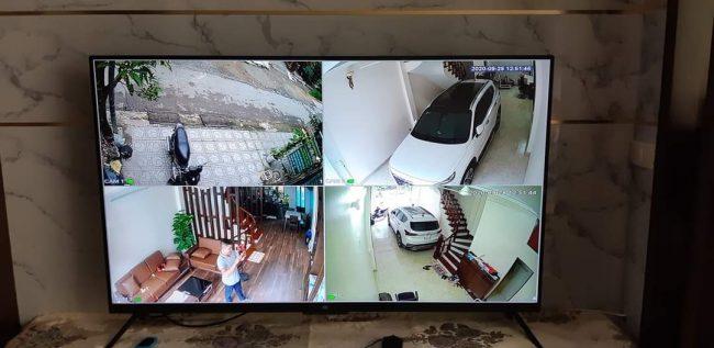hình ảnh lắp đặt camera tại nhà quận Đống Đa
