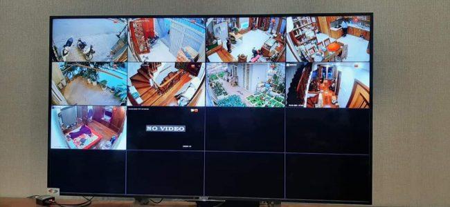 hình ảnh demo bộ camera dahua 2.0 lắp đặt tại Nam từ liêm