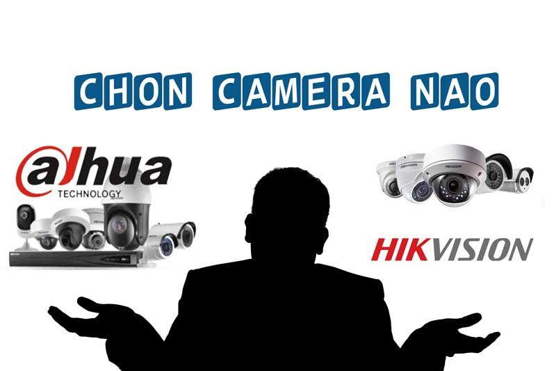 Hãng camera Hikvision và Dahua