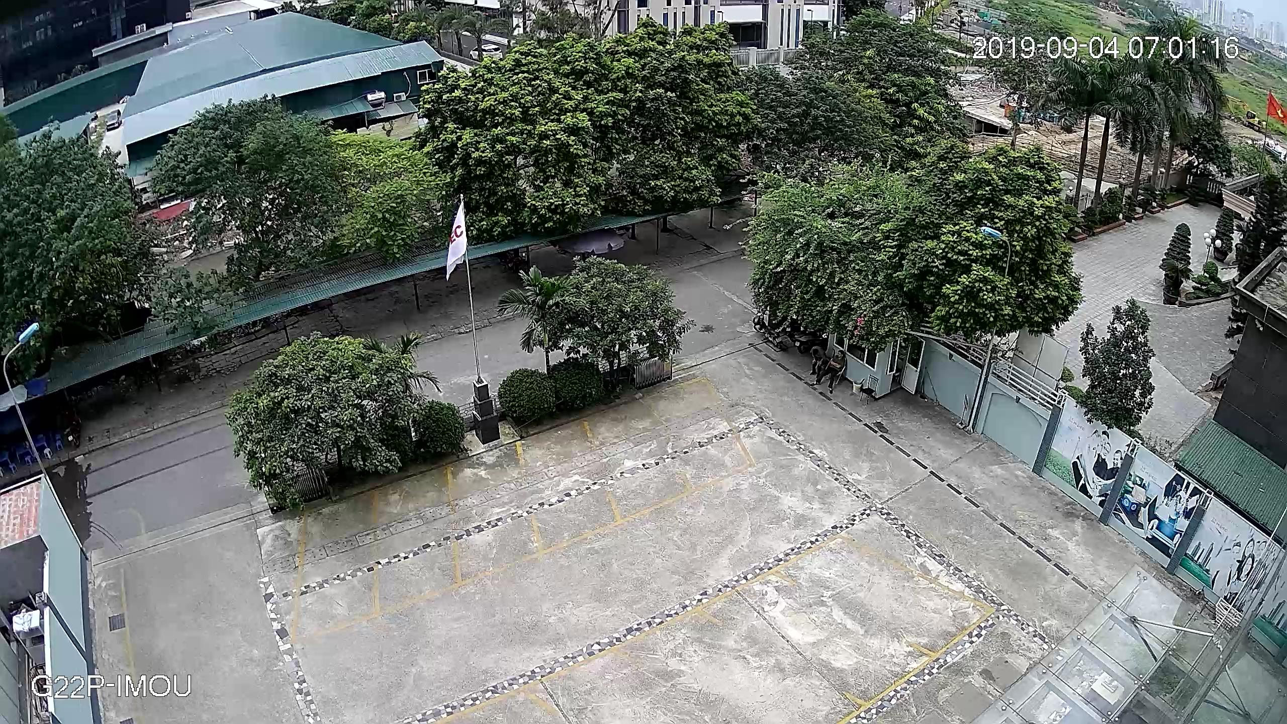 hình ảnh ban ngày camera wifi IMOU G22P