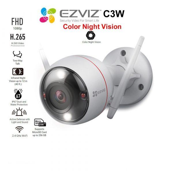 Camera Wifi C3W 2M 1080P Có Mic